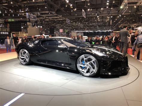 Bugatti La Voiture Noire, Pininfarina Battista Lead Must