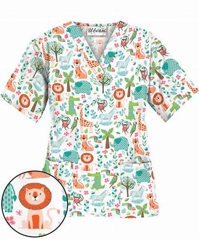 Scrubs Pediatric Nurse Nursing Uniform Advantage Scrub