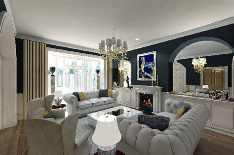 contemporary living rooms modern classic living room facemasre Classic