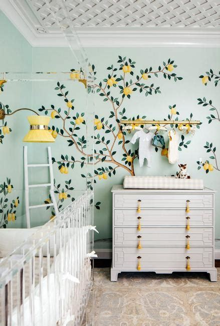 Beautiful Lemon Yellow and Green Color Scheme for Baby