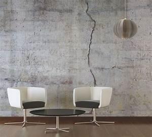 Tapeten Beton Design : tapeten im wohnzimmer architects paper fototapete betonwand 470443 tapeten pinterest ~ Sanjose-hotels-ca.com Haus und Dekorationen