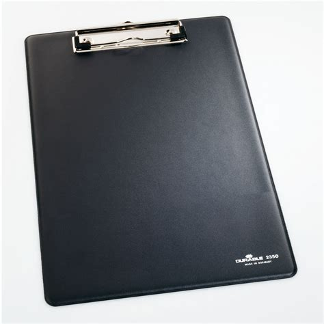 porte document de bureau durable porte bloc a4 standard coloris noir bloc note