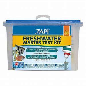 Api Ph Test Color Chart Api Api Freshwater Master Test Kit Fw Sw Testing Reagents