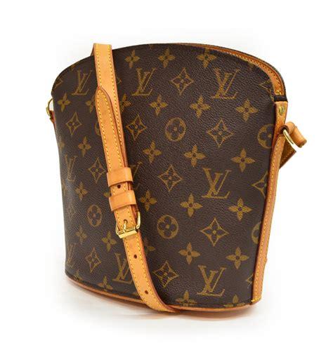 louis vuitton monogram drouot crossbody bag special italian mid century design antiques