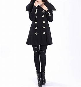 Womens Fashion Warm Winter Parka Overcoat Long Sleeve ...