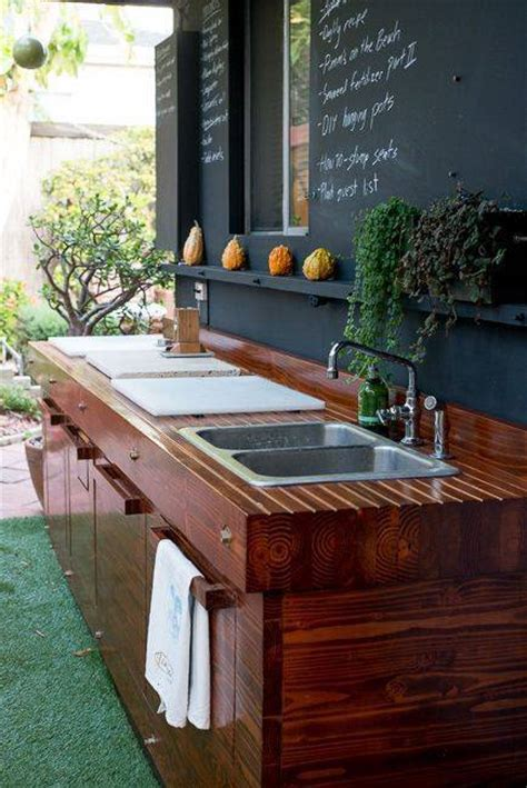 outrageous outdoor kitchen sink station ideas
