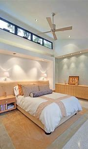 : Tropical Bedroom Interior Design Ideas With White ...