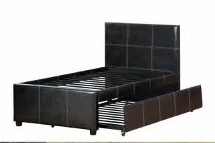 size bed with trundle poundex f9214f full size bed with trundle in los angeles ca