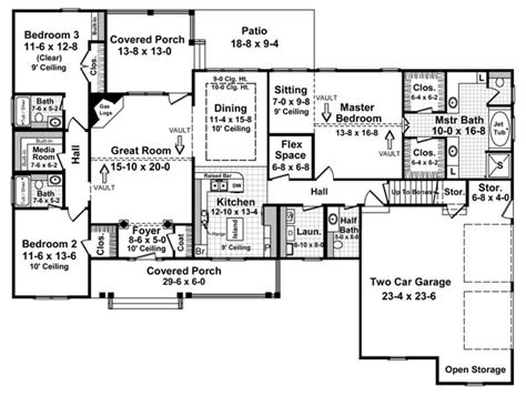 house plans with media room the fairhope 5757 3 bedrooms and 3 baths the house