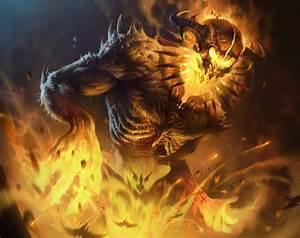 Fire Golem by IvanLaliashvili on DeviantArt