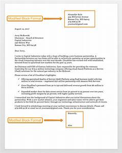 business letter essay format example