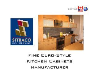 kitchen cabinets inc sitraco industries inc by said tadjer issuu 3028