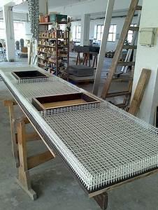 Arbeitsplatte Küche Beton : k che mit textilbewehrter betonarbeitsplatte ~ Watch28wear.com Haus und Dekorationen
