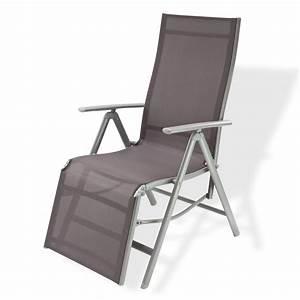 Gartenstuhl Für Kinder : liegestuhl gartenstuhl campingsessel garten relaxsessel corona grau ~ Indierocktalk.com Haus und Dekorationen