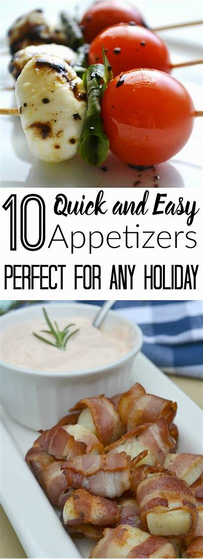 Appetizers Easy Quick Holiday Perfect Momswithoutanswers Any