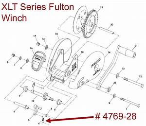 Exploded Diagram For A Fulton Xlt Series Winch
