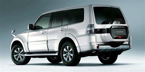 Mitsubishi New Models by 2015 Mitsubishi Pajero Mild Updates For Ageing Suv Ahead