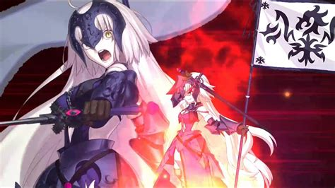 fategrand order avenger jeanne darc noble phantasm youtube