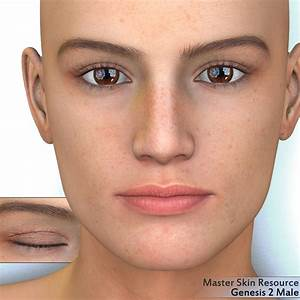 The gallery for --> Male Skin Texture Map