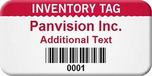 inventory barcode labels With custom inventory labels