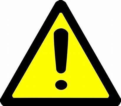 Warning Sign Clip Vector Svg Drawing 17kb