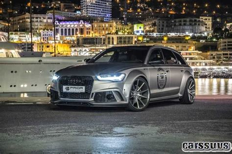 20182019 Audi Rs6 In By Prior Design  New Cars Price