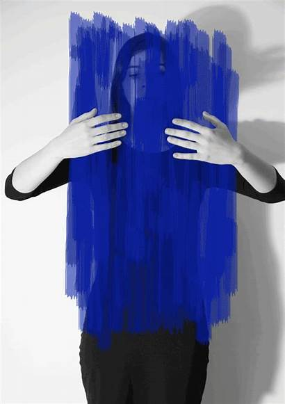 Helena Almeida Ink Project Painted Photographic Wall