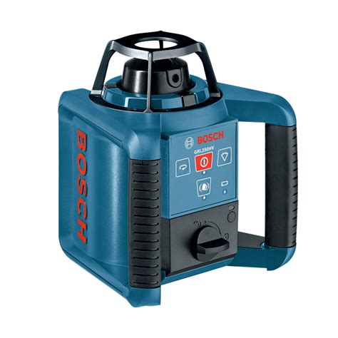 bosch laser level shop bosch 1 000 ft beam self leveling rotary laser level at lowes com