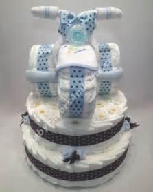 Unique Baby Shower Diaper Cakes for Boys