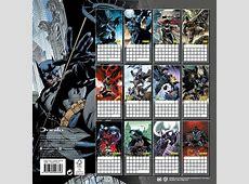 Batman Comics Calendar 2018 English Version The Movie Store