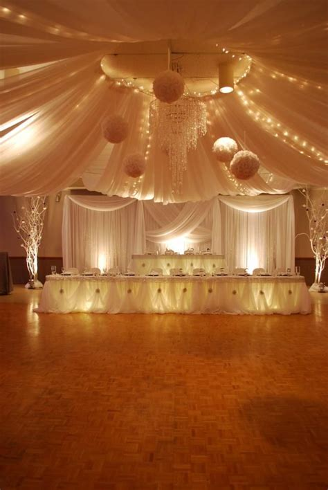 luxurious wedding receptions hall decoration ideas