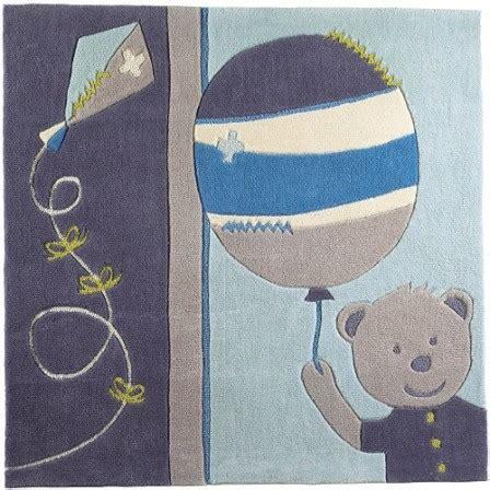 tapis chambre bébé bleu mot clé tapis décorer