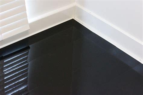 designer black high gloss laminate flooring floorless