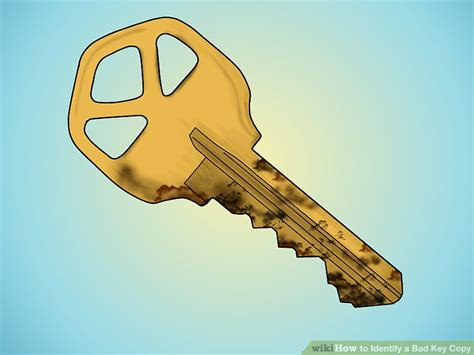 identify  bad key copy  steps  pictures