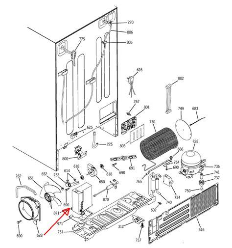ge monogram model zfsbdndss  serial vf  cooling  lights