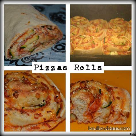 pizza hervé cuisine pizza rolls une recette de pizza en version quot roulé quot