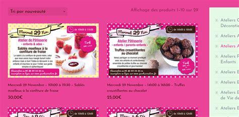 cuisine patisserie création de site web de cours de cuisine patisserie à