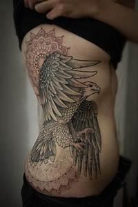 Tatouage Aigle Femme Tatouage Oiseau Passion Pour La Libert Et D