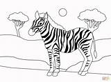 Coloring Zebra Printable Drawing Dot Puzzle sketch template