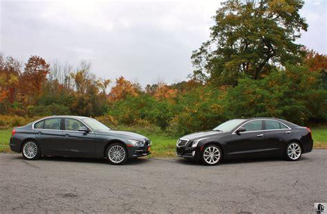 Cadillac Ats Vs Bmw 335i by Test Drive Cadillac Ats 2 0t Vs Bmw 328i