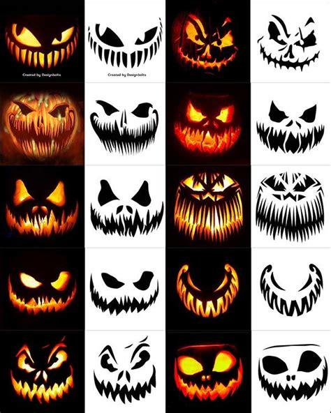 420 free printable pumpkin carving stencils