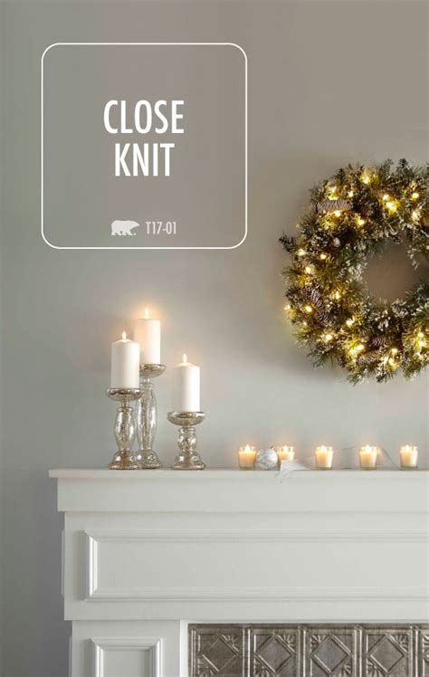 This collection of neutral gray color palettes from BEHR ...