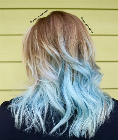 Pastel Blue Hair Frozen Hair The Torres Experience By