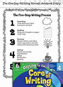 How To Get Grades Up Writing Lesson The Five Step Writing Process Level 4