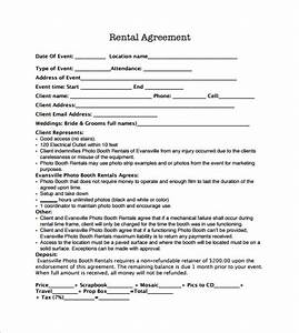 sample booth rental agreement 13 documents in pdf With event space rental contract template