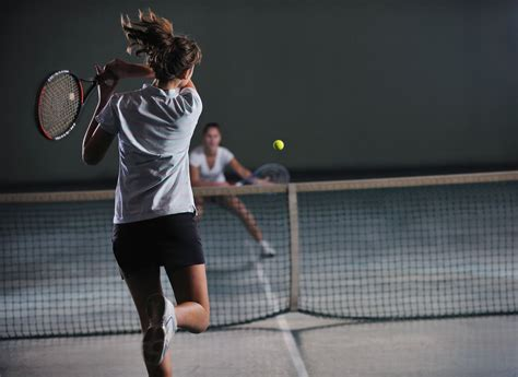 indoor tennis recreation