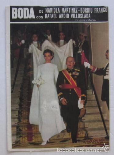 boda de mariola martinez bordiu franco  rafa comprar revista hola en todocoleccion