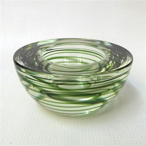 green glass candle holders kosta boda atoll votive tea light candle holder small bowl 3984