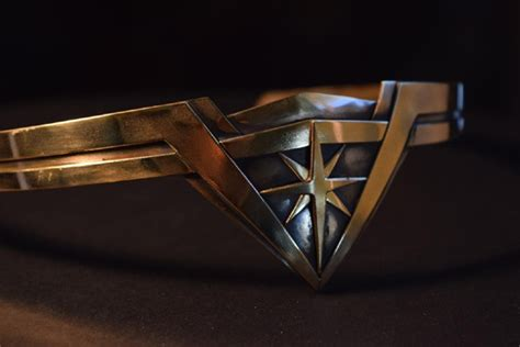 wonder woman tiara how to make a brass diy tiara boredwiki