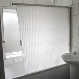 tiny bathroom storage ideas fold away shower screen bath folding curtain white
